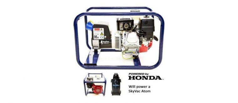 SkyVac Atom – Benzin Generator
